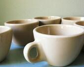 Vintage Homer Laughlin Restaurantware Coffee Cups