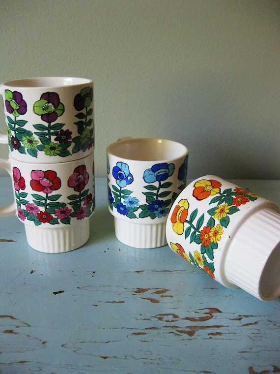 Vintage Stacking Cups