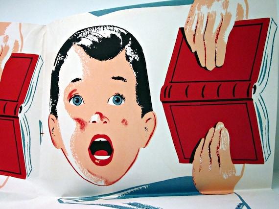 1957 Plywood Christmas Decoration - Choir Boy Trio Pattern