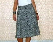 SALE Vintage Tweed A-Line Skirt