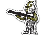 Green Clone Trooper Magnet
