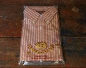 1960s Mens Shirt - Van Heusen 417 Shirt - Large