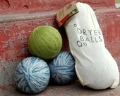 Recycled Wool Dryer Balls-3 pack (FREE SHIPPING)