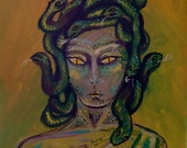 Medusa Original Painting