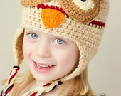 Owl Hat for girls