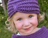 Turban Style Hat with Matching Shawl