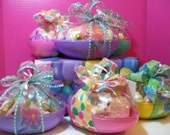 Custom Listing for Glend Lucerno: Decorated Easter Cookies Filled JUMBO GIFT EGG