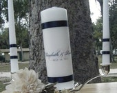 Unity Candle Monogram Personalized Wedding