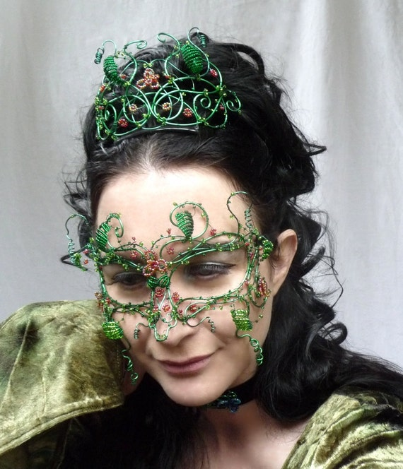 Mayqueen masquerade mask, womens, costume, accessories, handmade