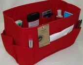 Purse ORGANIZER insert SHAPER / You choose the color / 13 x 7 x 8H / WIDE and Tall / Check out my shop for more styles