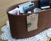 Purse ORGANIZER insert SHAPER / Inside pockets only / You choose the color and size / STURDY / 5 Sizes Available