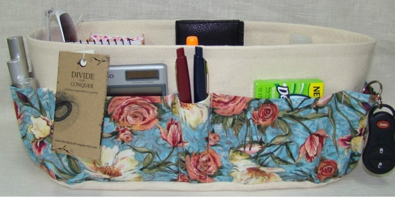 Purse ORGANIZER insert SHAPER / Wide - Oval 14 x 5 / You Choose the Color / Extra STURDY / Check out my shop for more variety