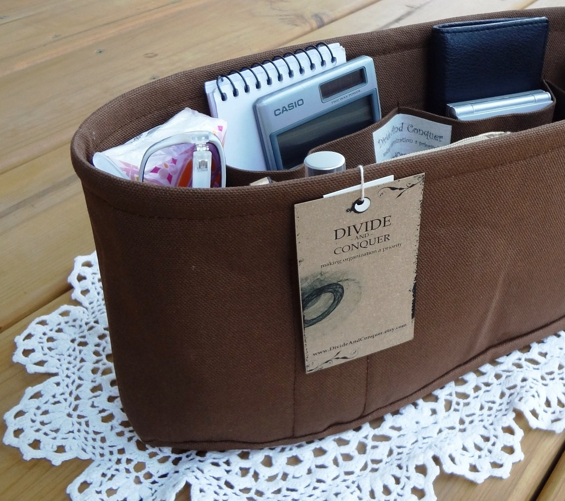 purse organizer insert shaper inside pockets only you