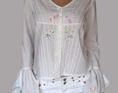 Vintage Gipsy blouse with embroidery