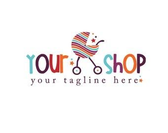 Photography Logo- Pre-made- Baby Shop Boutique