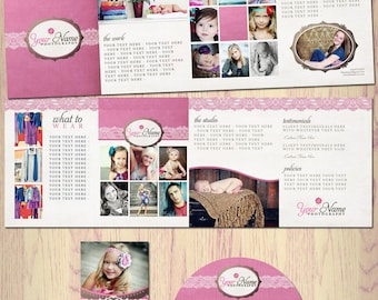 Boutique Marketing Package - Pink Lace - Photography