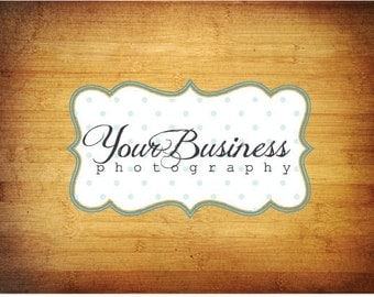 Photography Logo & Watermark - Pre-made for Photographer - Scroll Frame 2