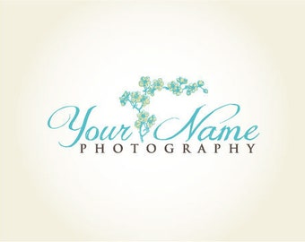 Photography Logo & Watermark - Pre-made for Photographer - Floral Vine