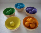 Sort And Count. Montessori Inspired Activity for Toddlers.