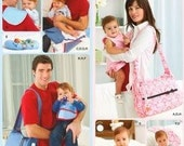 Simplicity Sewing Pattern- His and Hers' Diaper Bags and Accessories- NEW, UNUSED