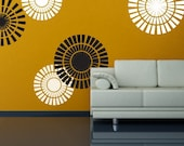 Vinyl Wall Sticker Decal Art - Circle Shapes
