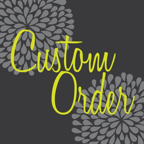 Custom Order for Brittney Kats