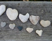 Teeny Stone Heart Collection