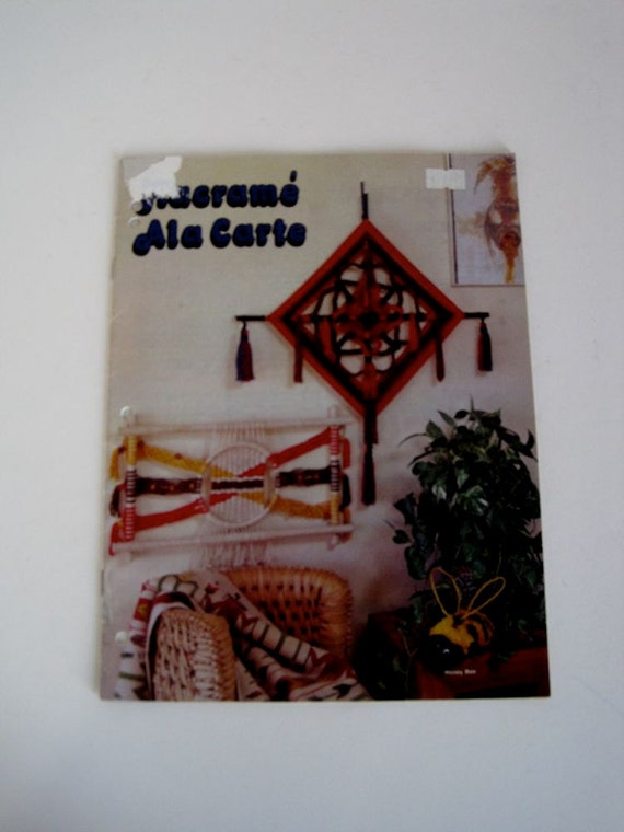 Macrame Home Decor and Plant Hangers Pattern Book