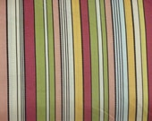 Custom listing for Eileen Pasero Serendipity Stripe cotton fabric 6 yards