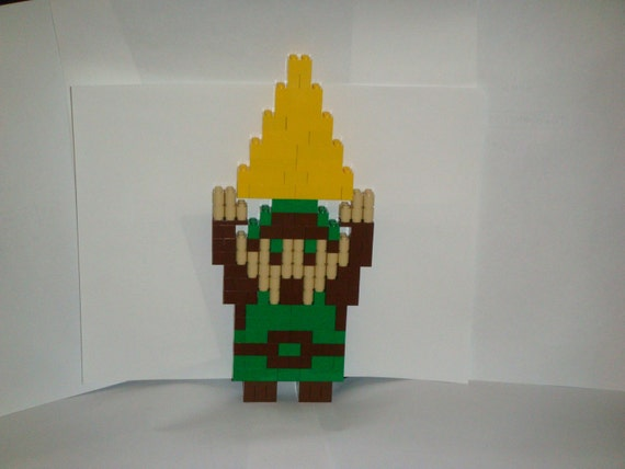 Lego Link and Triforce from The Legend of Zelda