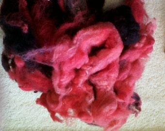 Red Jacob Sheep wool