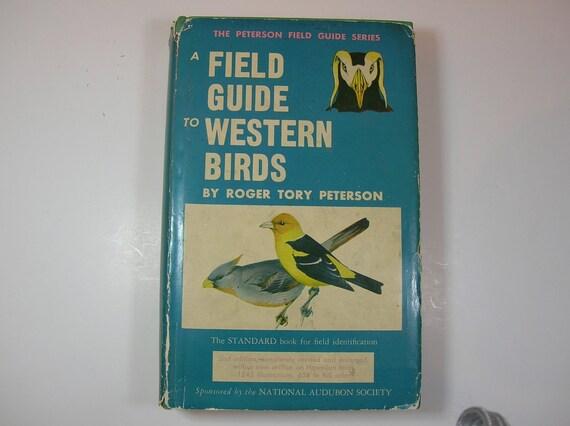 IISALEII Vintage Field Guide To Western Birds 1961