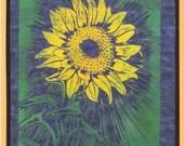 5 Sunflower Notecards
