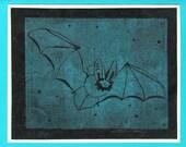 5 Bat Notecards