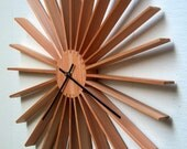 Modern Star Burst Wall Clock