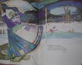 Mother Goose Abroad..ViNtAgE..1974..Nursery Rhymes Collected From Belgium..Holland..France and Germany..Amazing Illustrations
