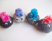 Pet rock with mohawk plush- Small (You choose 1)