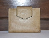 Vintage Buxton Wallet Sand and Swirled Brown