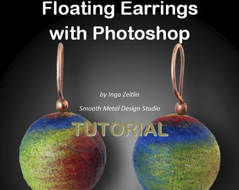 Floating Earrings with Photoshop - TUTORIAL