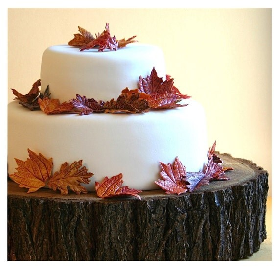tree trunk slice wedding cake stand unavailable listing on etsy 21259