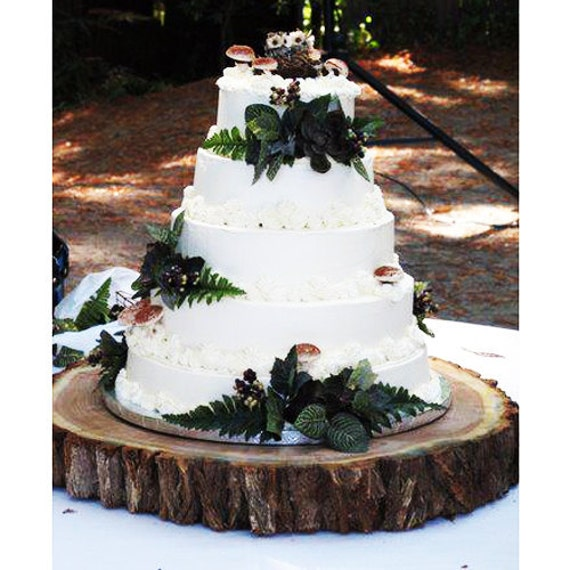 tree bark wedding cake stand unavailable listing on etsy 21249