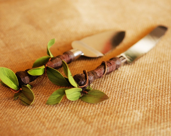 Twig Style Wedding Serving utensils