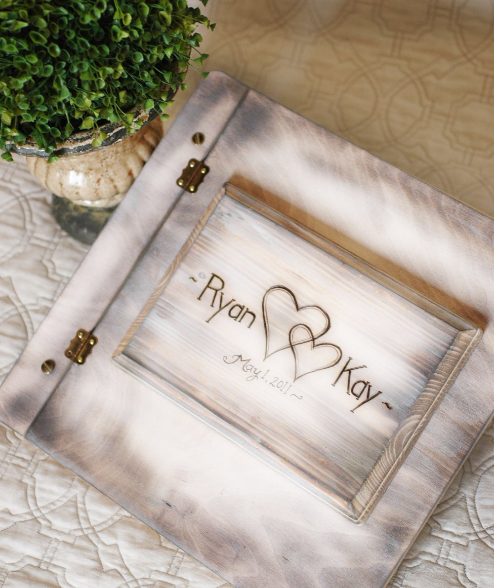 Album photo chic fashion designs for Photo wedding guest book