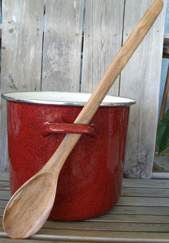 Classic Spoon Extra Long Cherry Wood