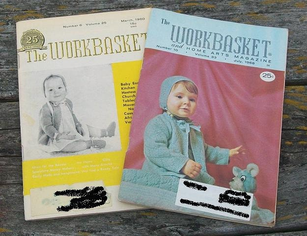 Vintage Workbasket Magazine Vol 51 No 7 May 1986 Tatting Knitting Crochet