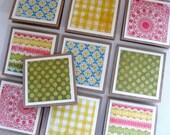 Mini Blank Handmade Cards, Stella Rose Collection, Set of Ten, Mailbox Memories