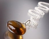 Patisserie Necklace - Cognac Quartz