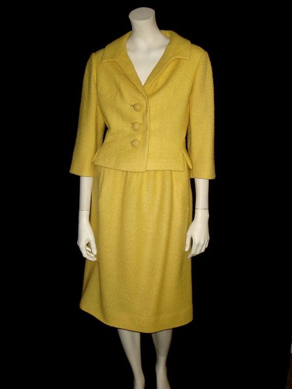 Yellow Skirt Suit 14