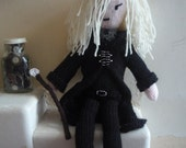 Lucius Malfoy doll knitting pattern pdf