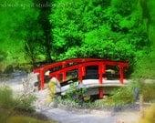 Red Bridge Fine Art Photo